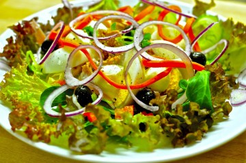 Green Pear Salad