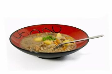 Bean Stew With Cornmeal-Cheddar Dumplings
