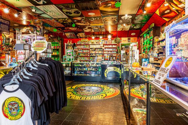 Inside Ashes Smoke shop 4