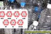 Chai nhựa có 1 trong 3 ký hiệu sau là cực kỳ độc hại