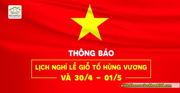thong bao nghi le gio to hung vuong 30-4 1-5