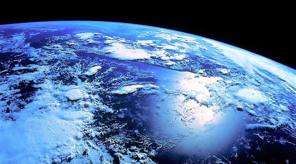 Chamsya vue de l'espace