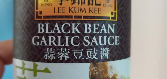 sauce haricots noirs