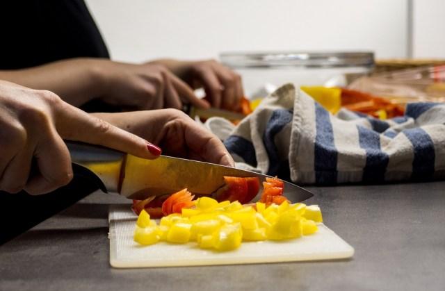 préparation cuisine asiatique batch cooking