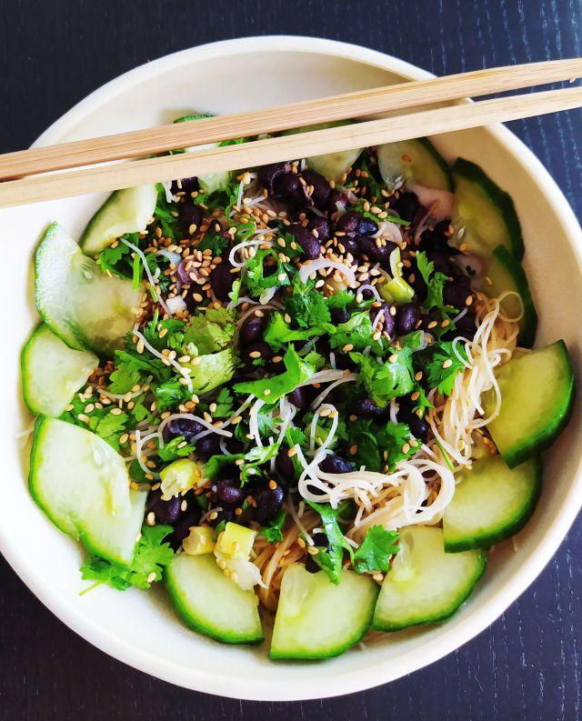 salade vermicelles de riz