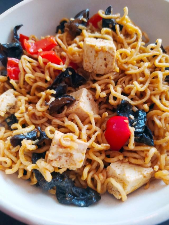mapo tofu et nouilles