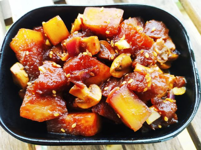 winter melon sauce aux haricots noirs