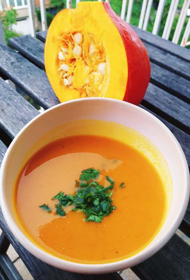 soupe potimarron au doenjang