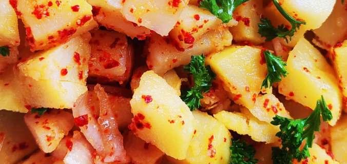 salade de pommes de terre coréenne