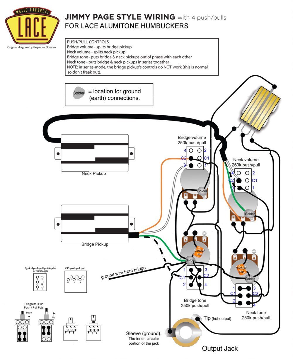 medium resolution of jimmy page wiring with lace alumitone pickups my les paul forum rh mylespaul com split coil circuit diagram dual humbucker wiring diagram