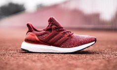 Adidas Ultra Boost: Burgundy