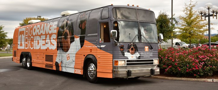 The UT Big Orange Bus