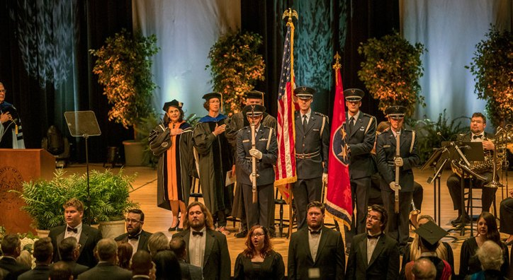 UT Air Force ROTC Color Guard
