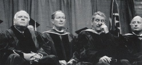 Former Tennessee governors at Snyder investiture