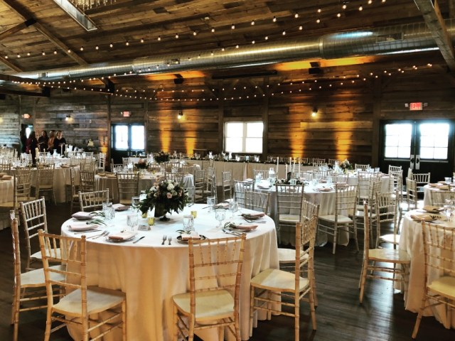 Chance Productions - The Fields Reserve - Stoughton, WI wedding, lighting, cafe string lights, uplights, rental, chiavari chairs