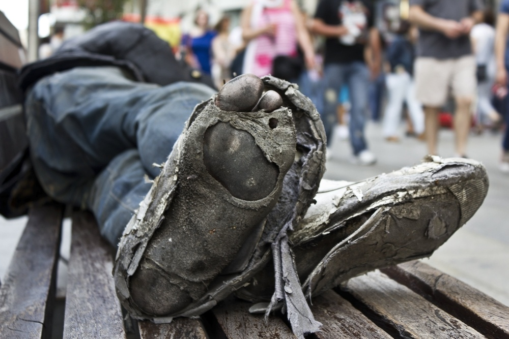 Buy Shoes for a Homeless Person