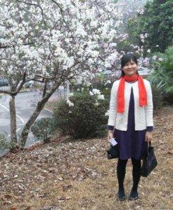 三月.春.綿綿細雨.花開時   在陽光燦爛的日子,我遠行