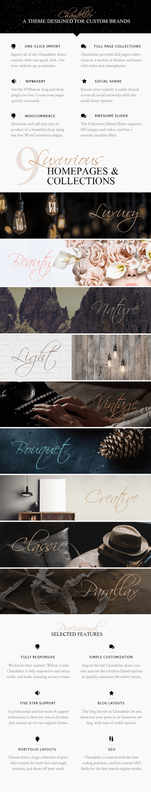 Chandelier - Luxury Theme for Custom Brands - 1