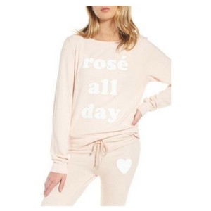 Champagne Lovers Gift Guide - Rosé All Day sweatshirt