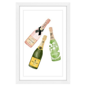 Champagne Lovers Gift Guide - Champagne artwork