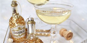 Champagne Lovers Gift Guide - Champagne Christmas Ornament
