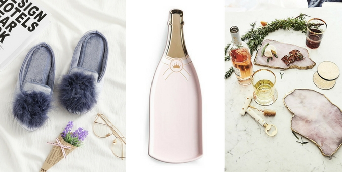 Chandeliers and Champagne Holiday Shop - Gift Guide for Her