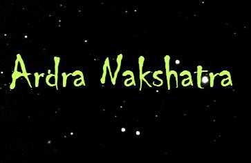 Ardra-Nakshatra