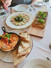 Crab Dip, Smoked Cobia Platter, Shrimp & Jalapeno Brioche @ Seahorse Grille, Ponte Vedra