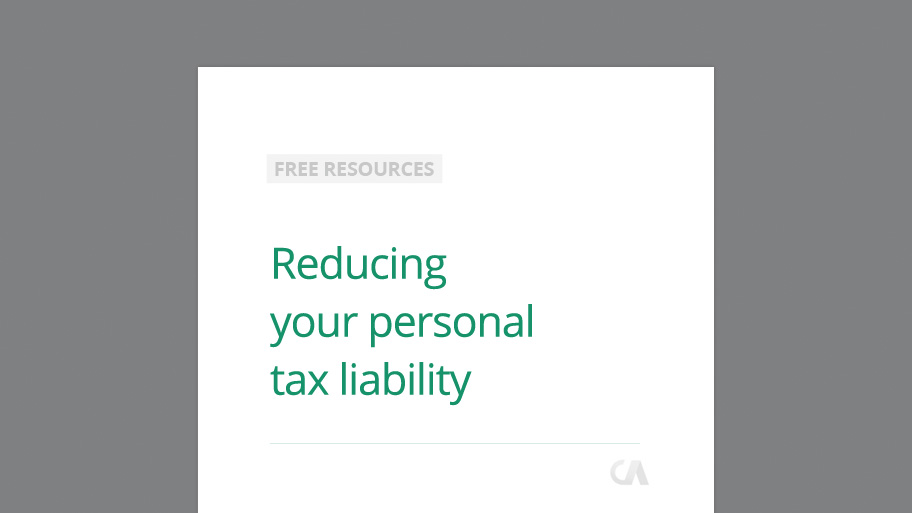 Help to reduce your Personal Tax Liability with our Guide   Chandlers CA