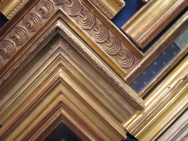 gold leaf frames chandler