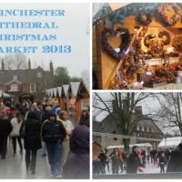 Charming Winchester Cathedral Christmas Market