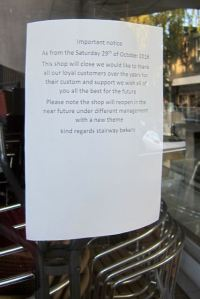 Closed: Stairway Bakery and Coffee Shop at Fryern Arcade ...