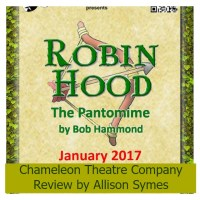 Robin Hood and the Chameleons - Review by Allison Symes