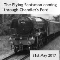 The Flying Scotsman in Chandler's Ford
