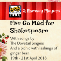 Review: Five Go Mad for Shakespeare by Chandler's Ford MDG and Romsey Players