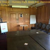 Reminder Post:  Hursley Park Book Fair - 23rd and 24th June 2018
