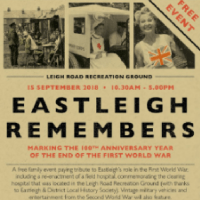 Eastleigh Remembers - Truly Memorable
