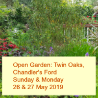 Open Garden in Chandler's Ford : 26 & 27 May