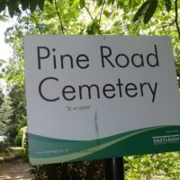 Pine Road Cemetery (part 2)