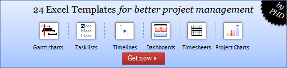 Project Management Templates for Excel - Download Today