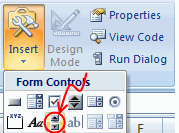 Add a Scroll-bar Control - Excel 2007