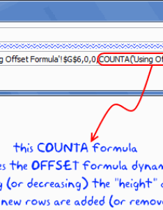 Dynamic named range using offset formula also chart ranges in excel how to  tutorial rh chandoo