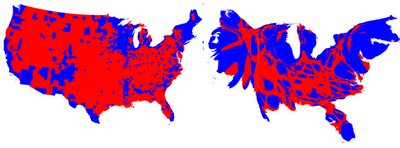 County-wise results of 2008 US elections - maps & catrograms