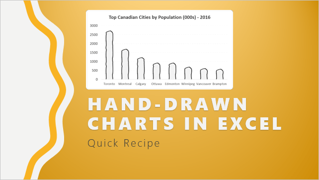 hand-drawn charts in Excel - how to