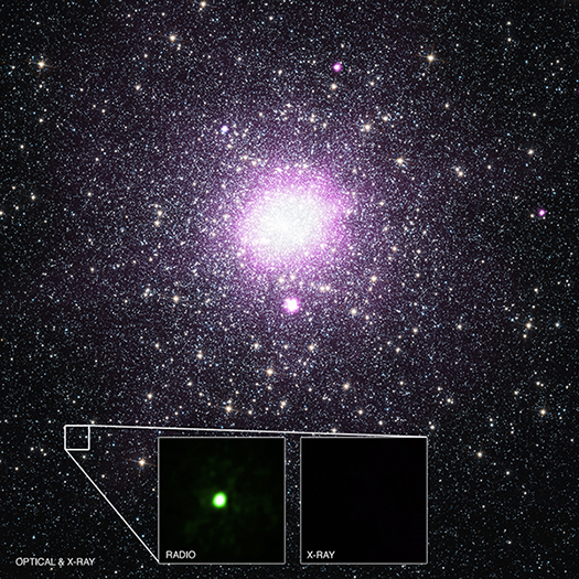 Astronomers have identified the true nature of an unusual source in the Milky Way galaxy. As described in our latest press release, this discovery implies that there could be a much larger number of black holes in the Galaxy that have previously been unaccounted for.