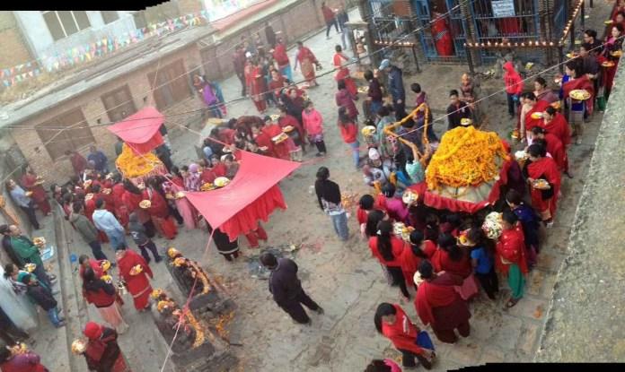 Chandragirinews thankot-jatra-1 थानकोट (शोणितपुर) महालक्ष्मी जात्रा थानकोट संस्कृत    chandragiri