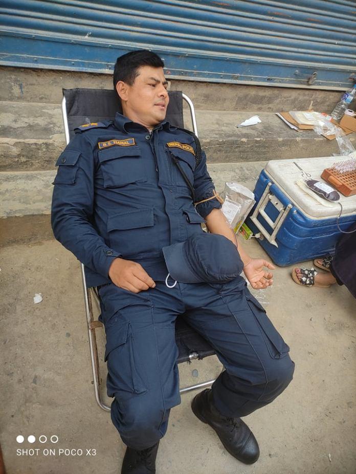 Chandragiri Ward 2 Blood