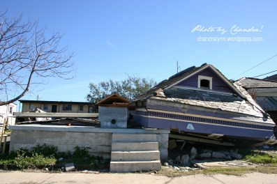 """A House off Its Foundation,"" New Orleans, December 26, 2005"
