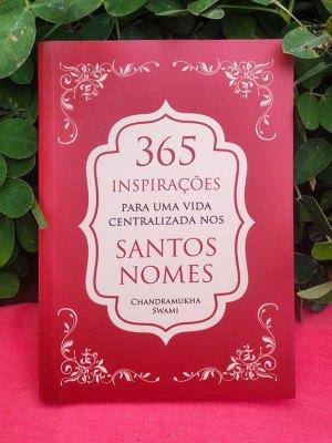 Livro 365 Inspirações para uma Vida Centrada Nos Santos Nomes