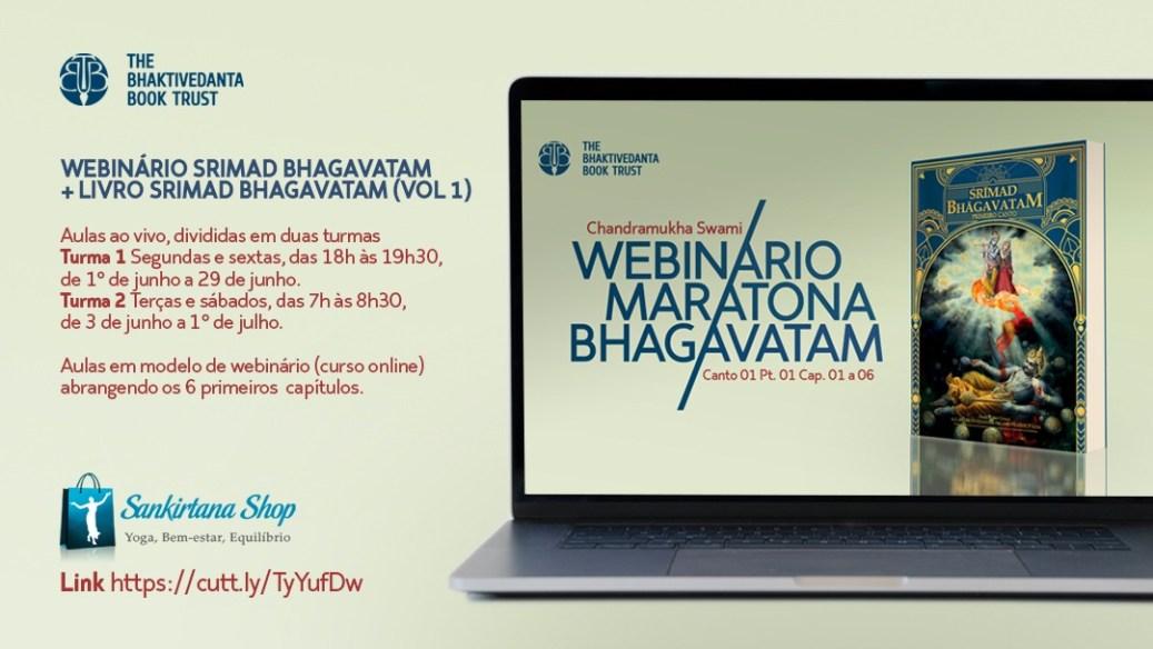 Webinário - Maratona do Bhagavatam Online